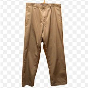 Planet Earth Clothing khaki zip front pants, NWT